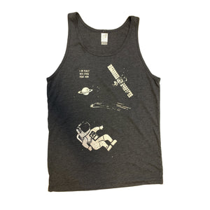 Really into Space - Unisex Tank Top (S, M & XL)