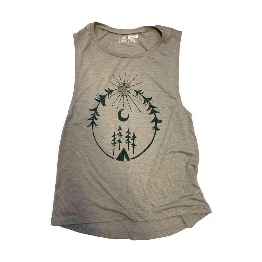 Camp Tank - Women's Flowy Muscle Tank