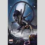 Cyn City Comics Comic Books Alien #1 by Greg Horn