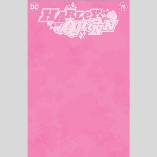 Cyn City Comics Comic Books Harley Quinn #75 Exclusive Blank