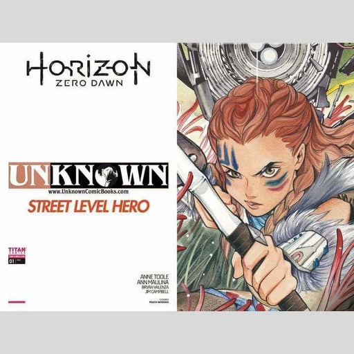 Cyn City Comics Comic Books Horizon Zero Dawn #1 Peach Momoko
