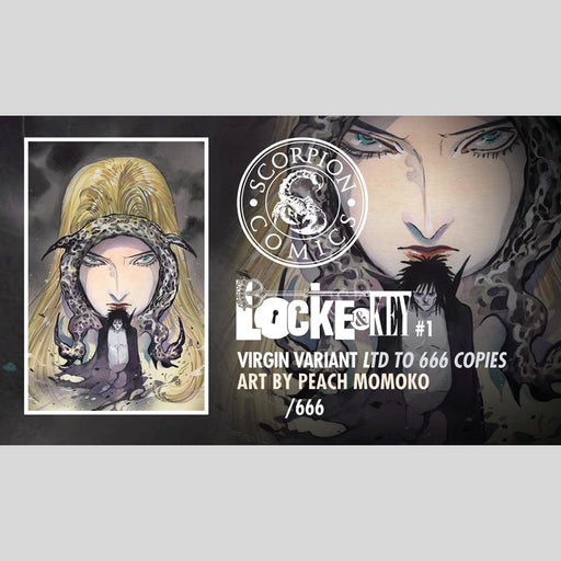 Cyn City Comics Comic Books Locke and Key Sandman #1 by Peach Momoko