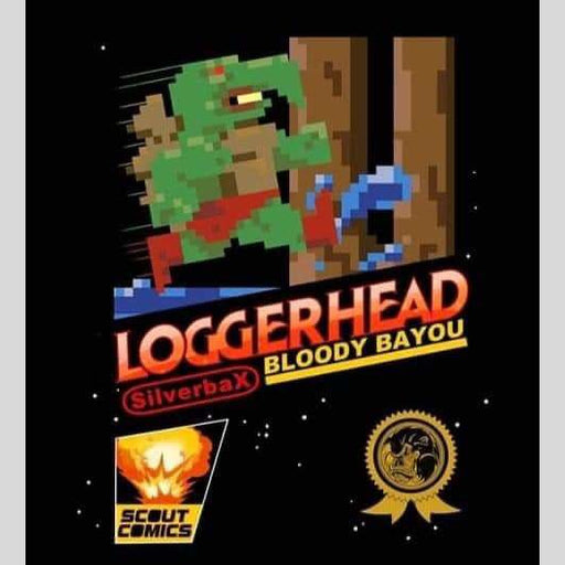 Cyn City Comics Comic Books Loggerhead #1 8 Bit Exclusive By Bryan Silverbax
