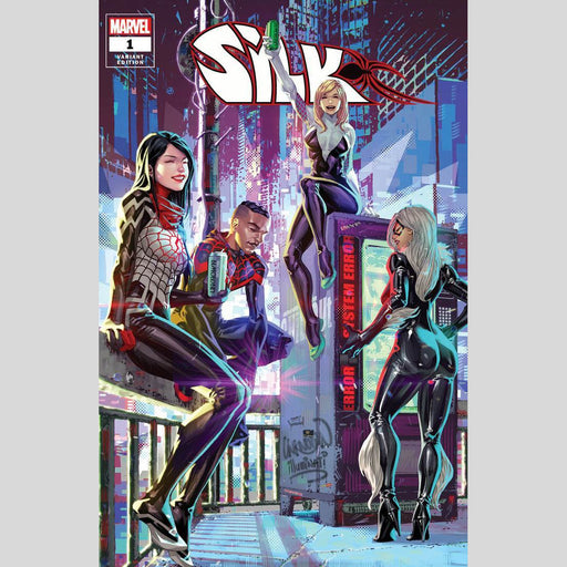 Cyn City Comics Comic Books Silk #1 by Kael Ngu