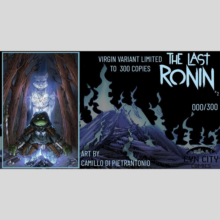 Cyn City Comics Comic Books The Last Ronin #2 Cyn City Comics Exclusive by Camill Di Pietrantonio