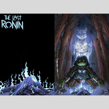 Cyn City Comics Comic Books The Last Ronin #2 Cyn City Comics Exclusive by Camillo Di Pietrantonio Metal Variant