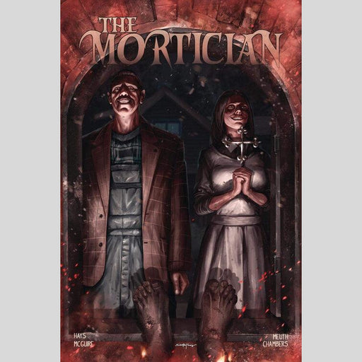 Cyn City Comics Comic Books The Mortician #1 Santa Fung Virgin Variant Set