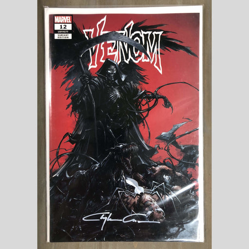 Cyn City Comics Comic Books Venom 12 Trade Dress Signed By Clayton Crain