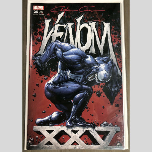 Cyn City Comics Comic Books Venom 25 Cover A Signed By Clayton Crain