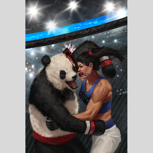 Cyn City Comics Comic Books Yuki VS Panda Cyn City Comics Exclusive By Aaron Bartling