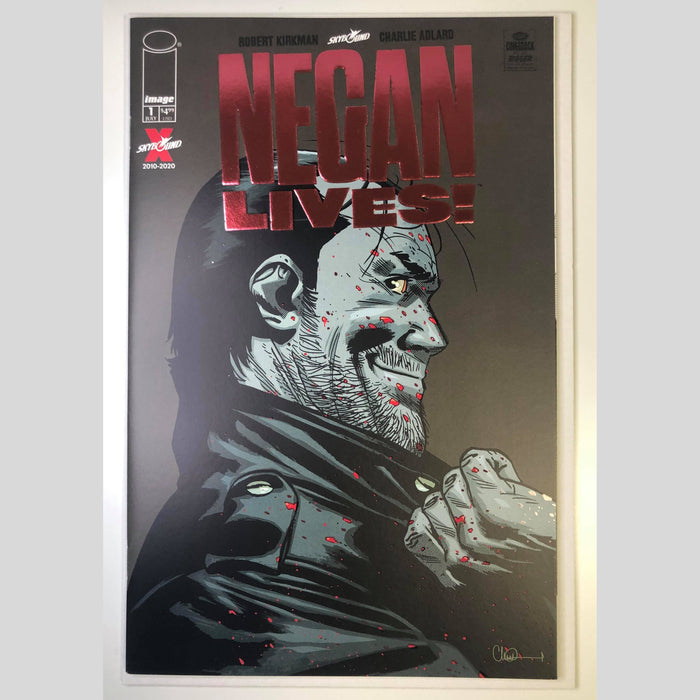 Cyn City Comics Negan Lives #1 Red Foil
