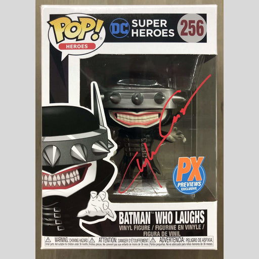 Cyn City Comics Signed POP Batman Who Laughs Funko Pop Signed By Clayton Crain