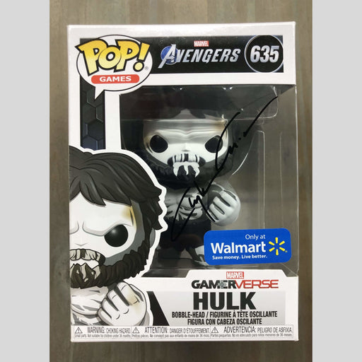 Cyn City Comics Signed POP Gamer verse Hulk Funko Pop Signed By Clayton Crain