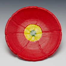 Load image into Gallery viewer, Poppy plate, red