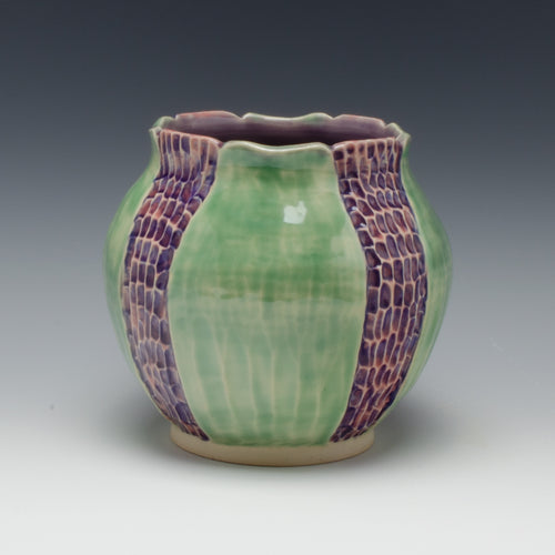 Early Spring Vase, lavender