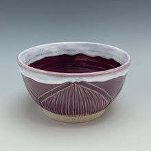 Load image into Gallery viewer, Zinnia Chip & Dip, Plum, Large