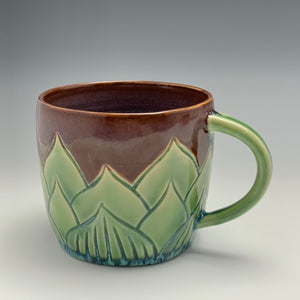 Succulent Mug, 14 ounces