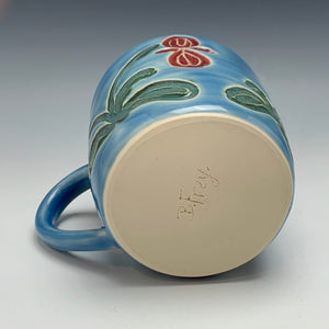Orchid Mug, 12 ounces