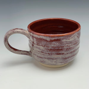 Brick Red Mug, 12 ounces