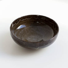 Load image into Gallery viewer, Glossy black bowls
