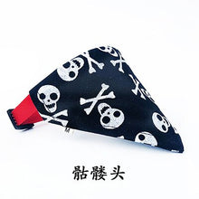 Load image into Gallery viewer, Pirate Themed Dog Bandana