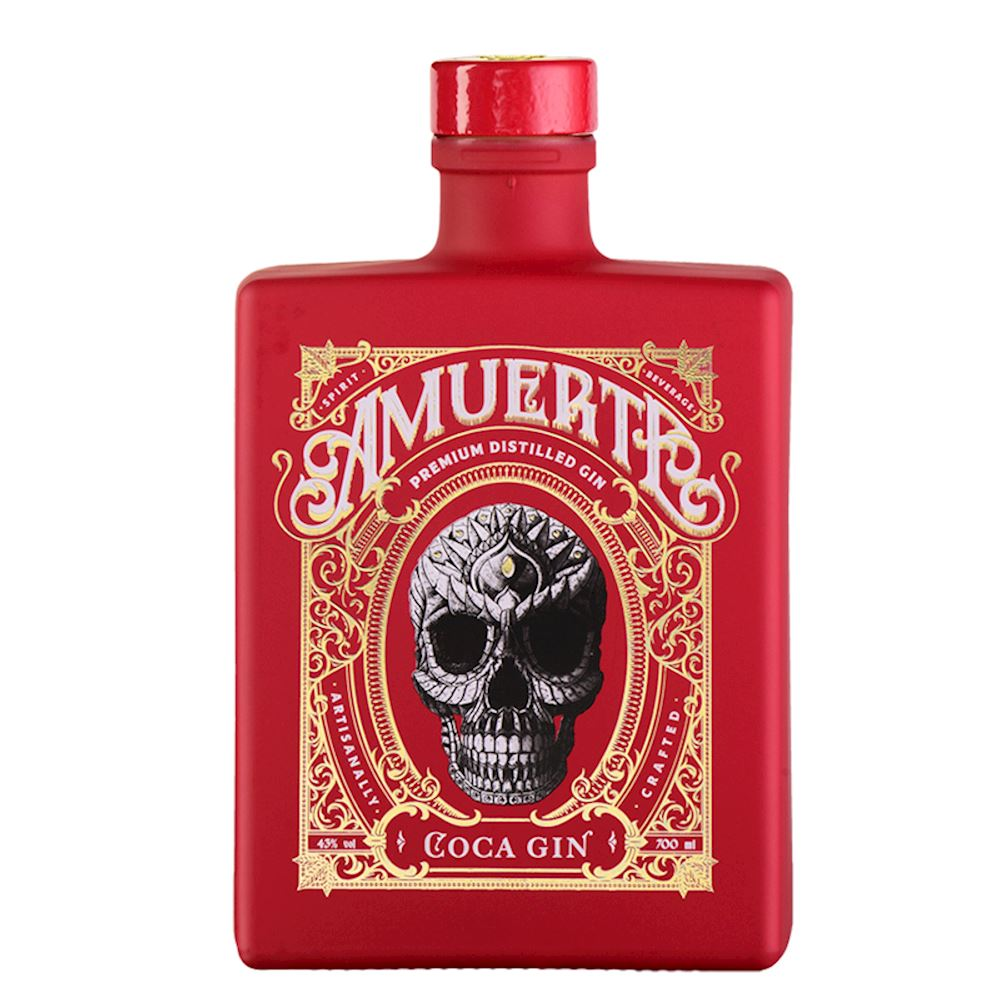 Gin Amuerte Red Edition