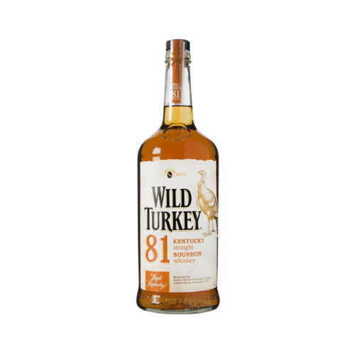 Whiskey Wild Turkey 81 Kentucky Straight Bourbon