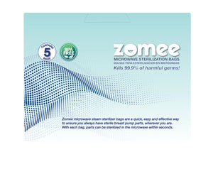 NEW Zomee Microwave Steam Sterilizer Bags