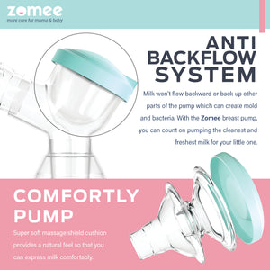 Zomee Rechargeable Double Electric Breast Pump