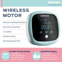 Load image into Gallery viewer, Zomee Rechargeable Double Electric Breast Pump