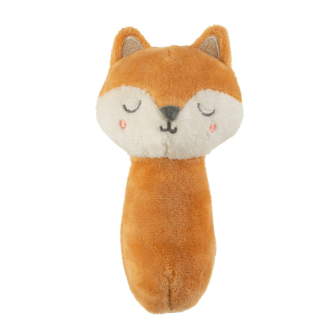 Woodland Fox Baby Rattle