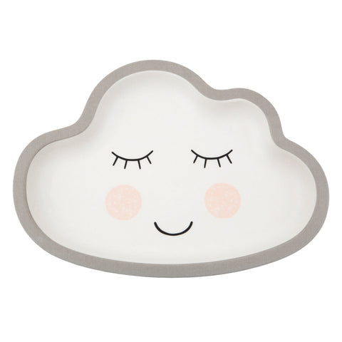 Sweet Dreams Cloud Bamboo Plate