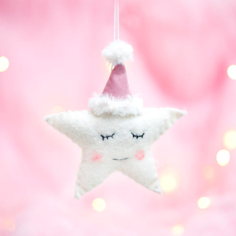 Sleeping Star Hanging Decoration