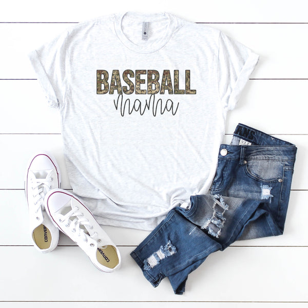 Camo Leopard Baseball Mom- Bundle