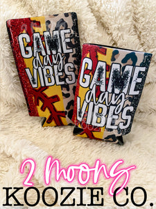 Game Day Vibes- Softball Brushstroke Koozies