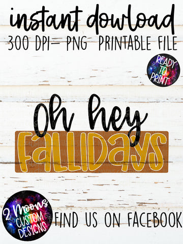 Hey Fallidays- Fall Design