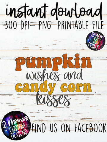 Pumpkin Wishes- Fall Design