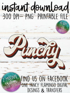 Punchy- Retro Design