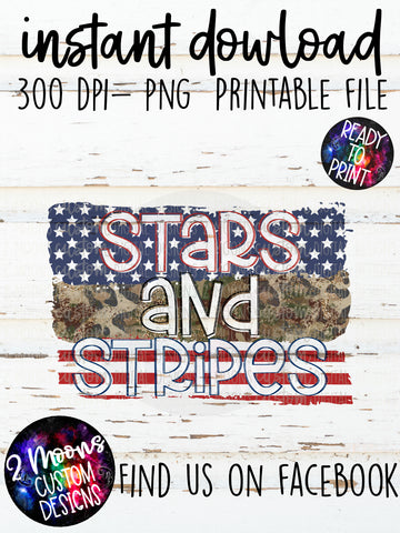 Stars and Stripes- Patriotic Design-