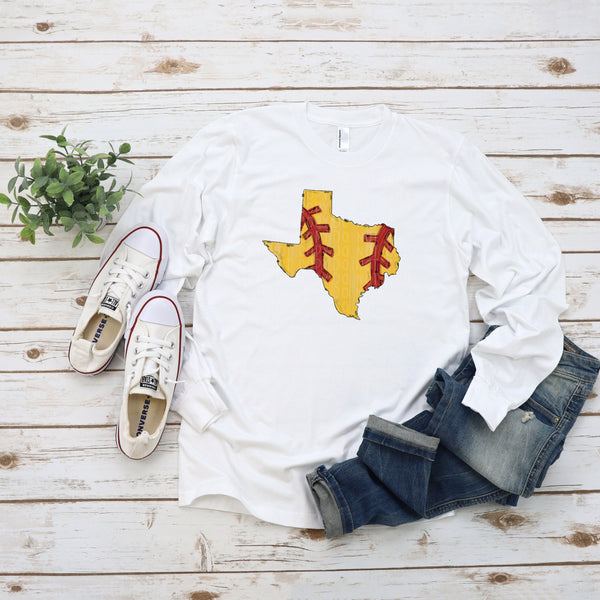Texas Softball State- Doodle Design