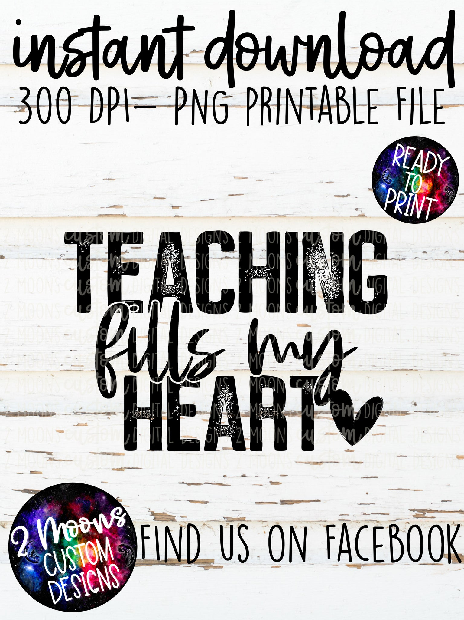 Teaching fills My Heart