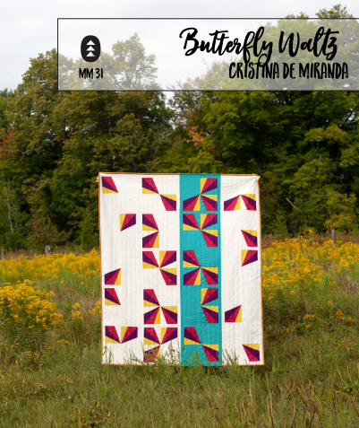 Butterfly Waltz Quilt Pattern Release & a Creative Cameo