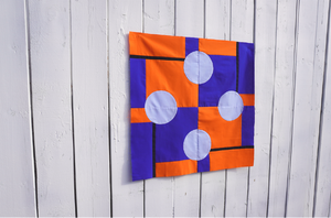 The Mondrian Curves Mini Quilt Tutorial