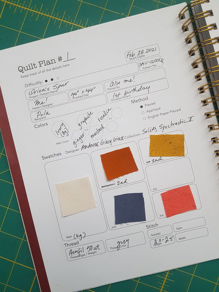 Shannon Orr of Eva Blake's Makery to offer you a discount on her newest edition of the Plan to Quilt organizer.