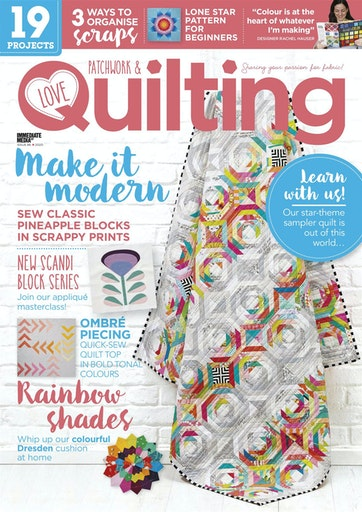 love patchwork and quilting magazine, issue 86