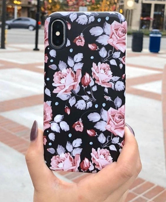 The Floral Love Slim Case Cover - Kalakaar Indiaa