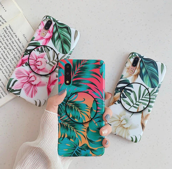 The Floral Family V2 Slim Case Cover - Kalakaar Indiaa