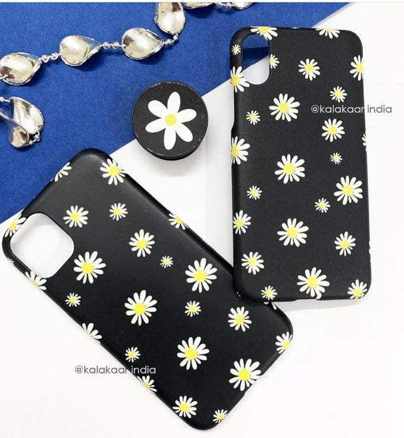 The Daisy Flower Slim Case Cover - Kalakaar Indiaa