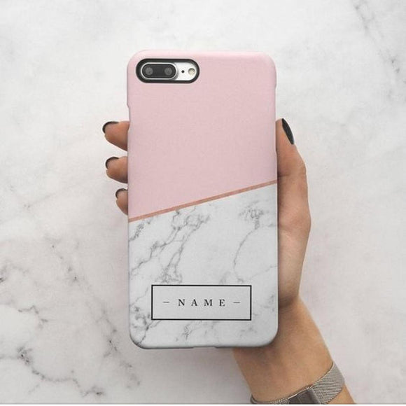 Custom Marble Slim Case Cover - Kalakaar Indiaa