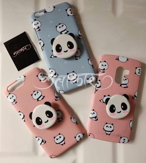 The Panda V2 Slim Case Cover With Holder - Kalakaar Indiaa